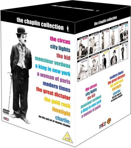 The Chaplin Collection UK (mk2/Warner) DVD box set
