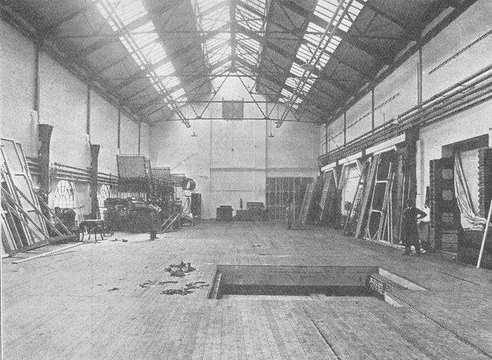 Studio no. 2 of the Gainsborough-Islington Studio