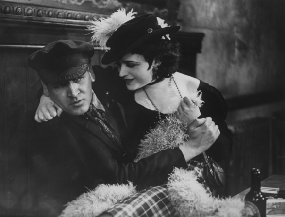 The Woman He Scorned (1929): a not-so welcome embrace. Hans Rehmann pulls away from Pola Negri