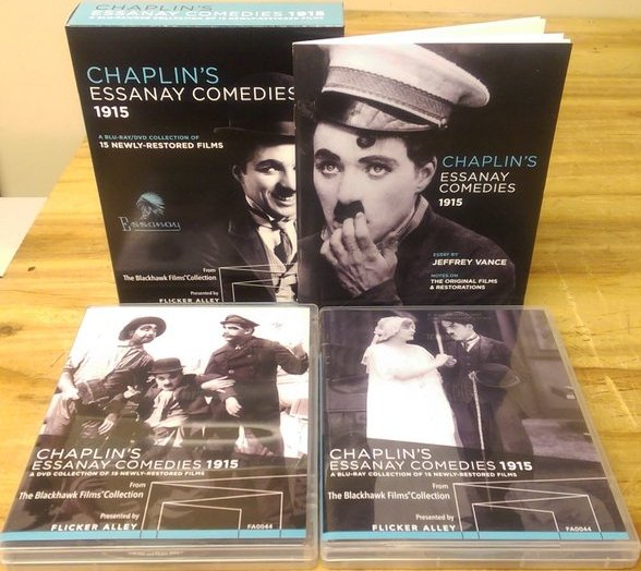 Charlie Chaplin's Essanay Comedies 1915 (Flicker Alley) US Blu-ray and DVD box set