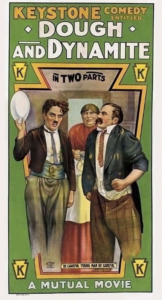 Dough and Dynamite (1914) US poster