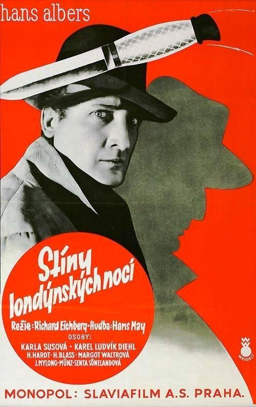 Der Greifer (1930) starring Hans Albers and German language version of Night Birds (1930). Czech film poster