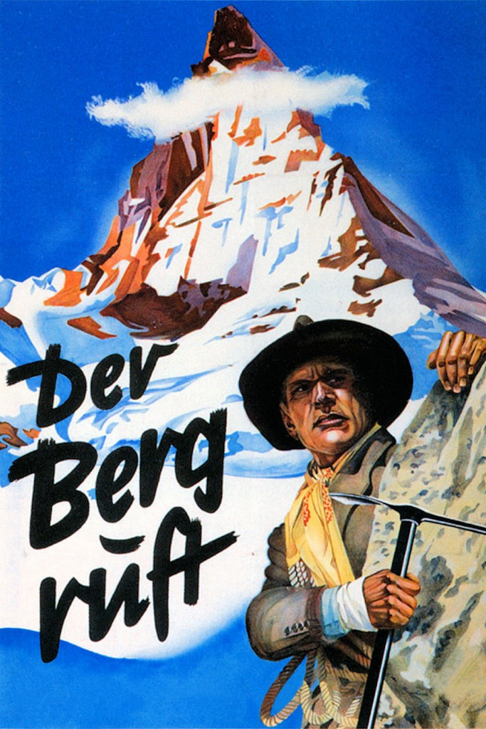 Der Berg Ruft (1938) Filmplakat (The Mountain Calls, film poster)