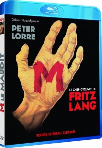 M (1931) Films sans Frontières French pirate Blu-ray front