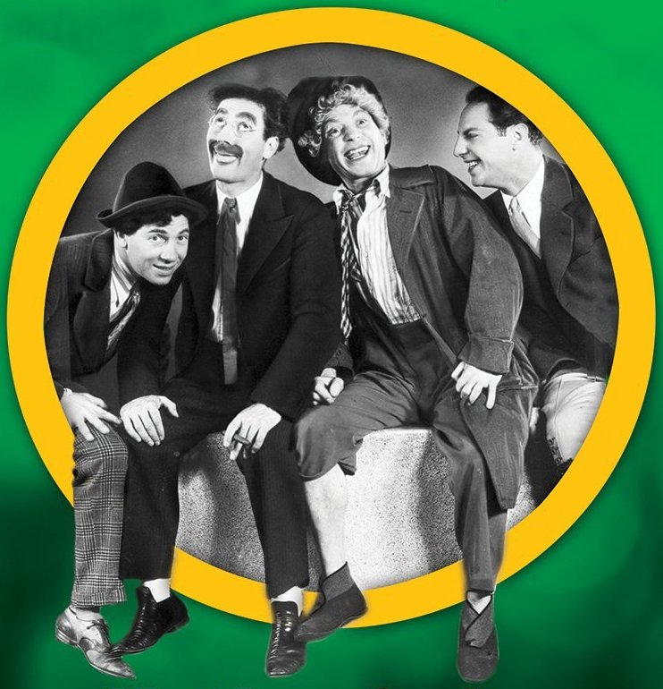 The Annotated Marx Brothers - A Filmgoer's Guide to In-Jokes, Obscure References and Sly Details by Matthew Coniam (McFarland, 2015). Cropped front cover