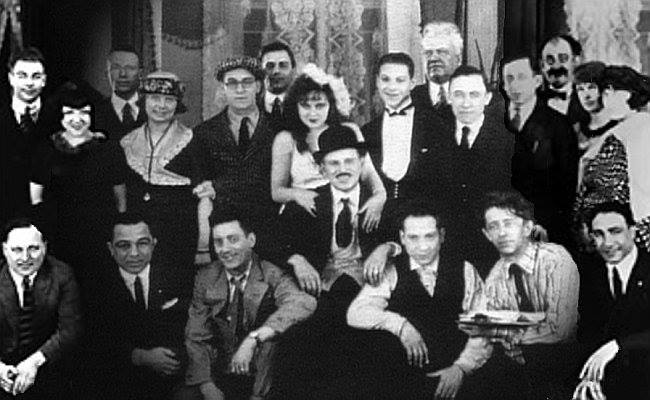 The Marx Brothers' Humor Risk group photo
