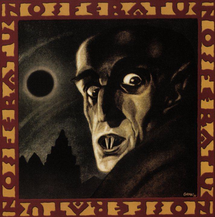 Nosferatu 4th March, 1922 première souvenir programme by Albin Grau
