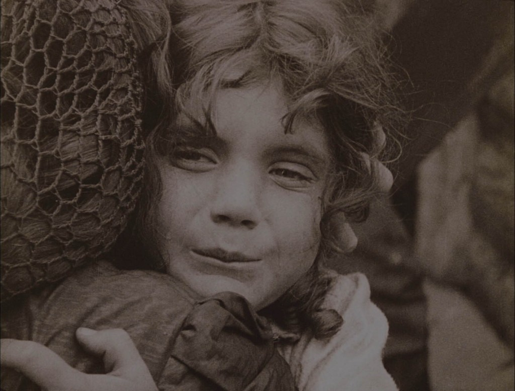 Betty Marsh, real-life niece of Mae Marsh, in The Birth of a Nation (1915), BFI Blu-ray screenshot