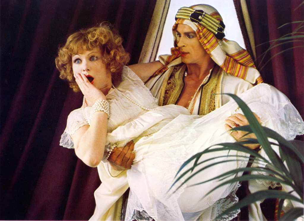 Jennie Linden and Rudolf Nuryev in Ken Russell's Valentino (1977)