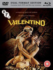 Valentino (1977) UK BFI Blu-ray-DVD set