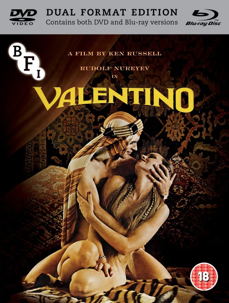 Valentino (1977) UK BFI Blu-ray-DVD set