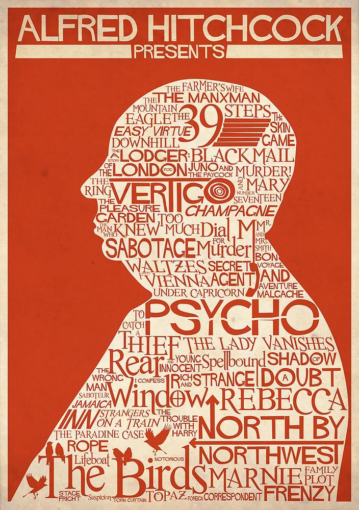 Alfred Hitchcock Presents poster by Adam Walker aka renduh, 2014
