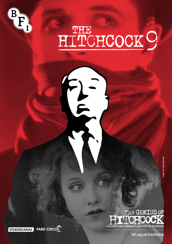 The Hitchcock 9 BFI poster, 2012
