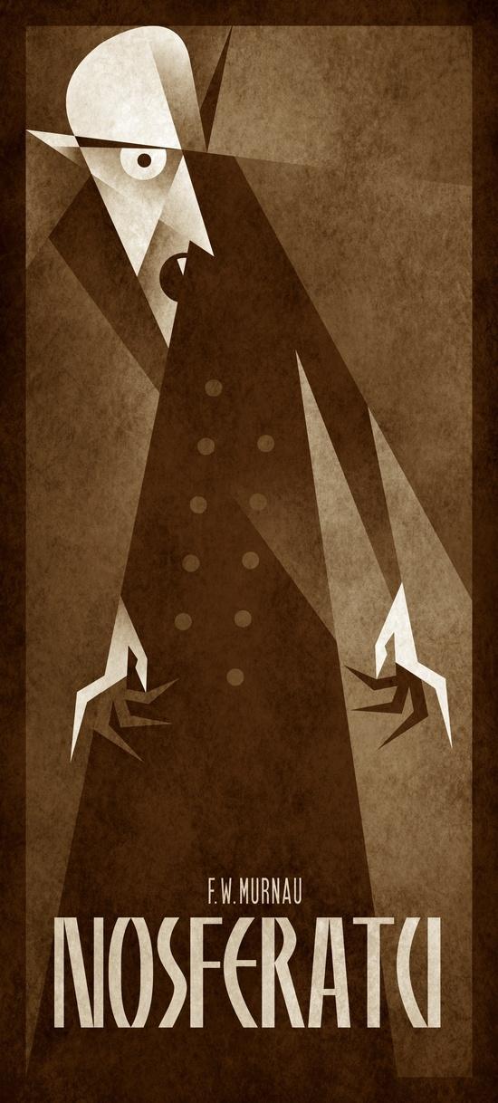 Nosferatu (1922) by Szokolai Gergely aka Szoki, 2012