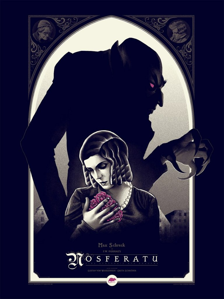 Nosferatu (1922) poster by Phantom City Creative, 2014