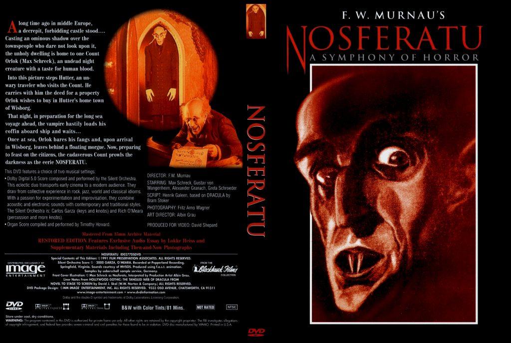 Nosferatu (1922) US Image DVD, 2000