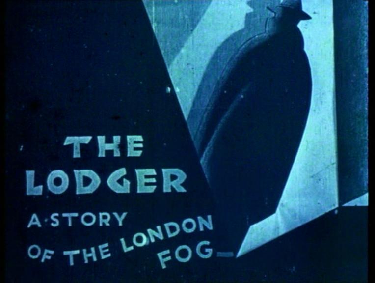 The Lodger (1926, dir. Alfred Hitchcock) UK Network archive version DVD screenshot