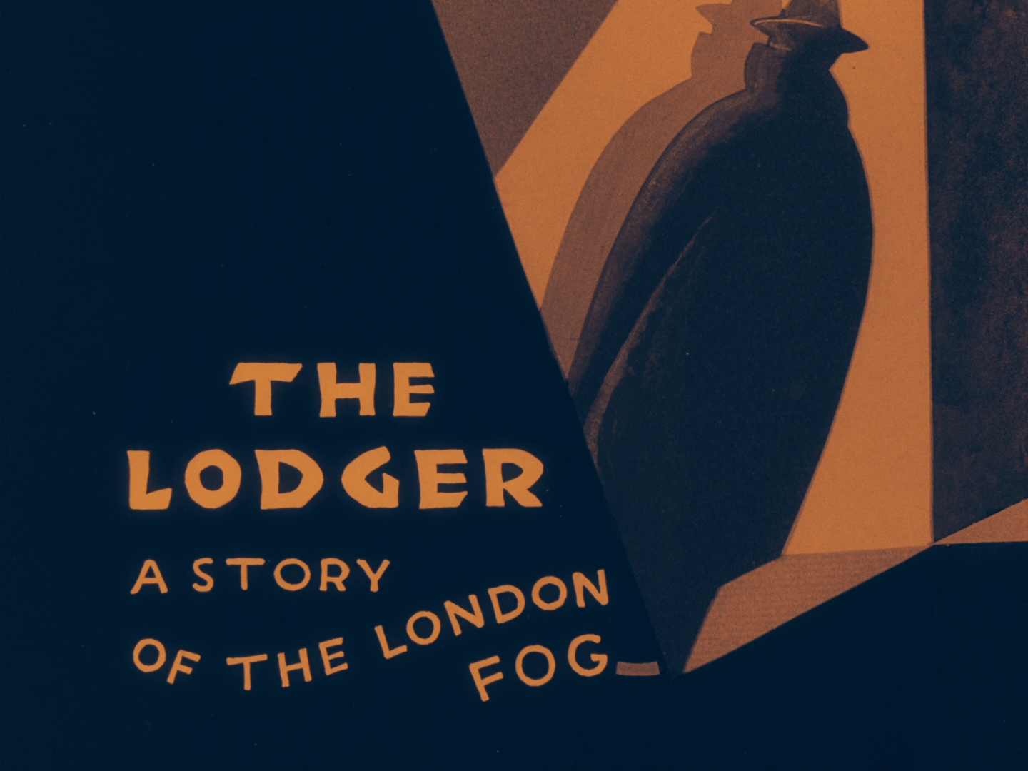 The Lodger (1926, dir. Alfred Hitchcock) UK Network Blu-ray, restored version 3