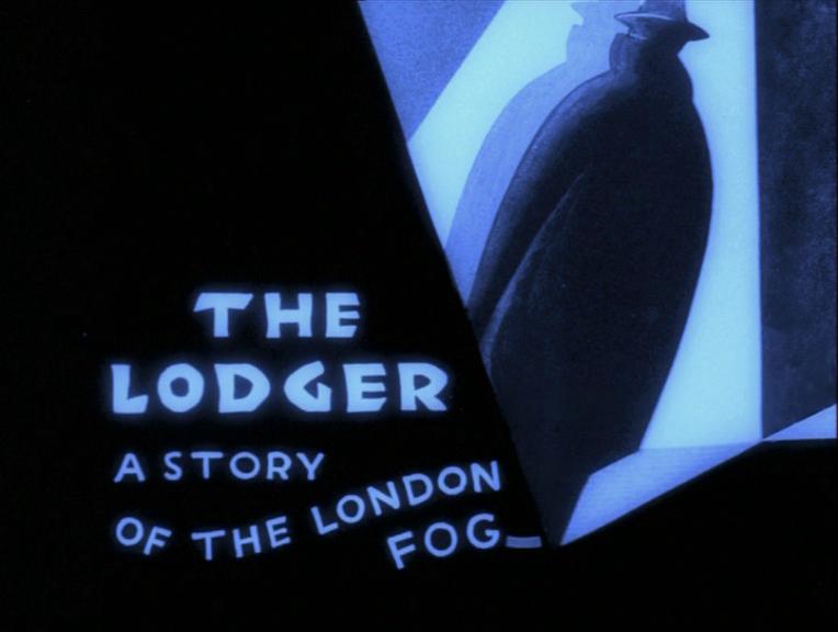 The Lodger (1926, dir. Alfred Hitchcock) UK Network DVD, restored version 1