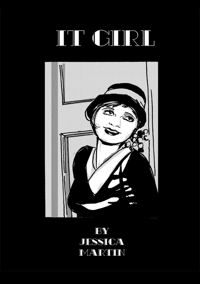 It Girl comic by Jessica Martin, cover