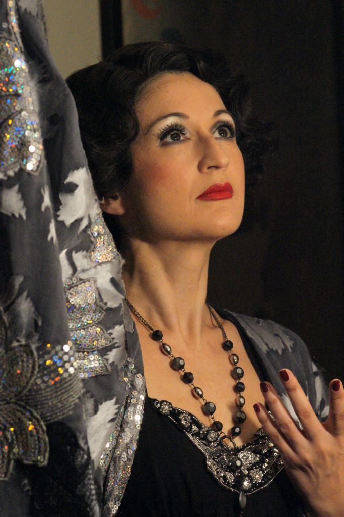 Jessica Martin as Norma Desmond in the 2009 West End production of Sunset Boulevard
