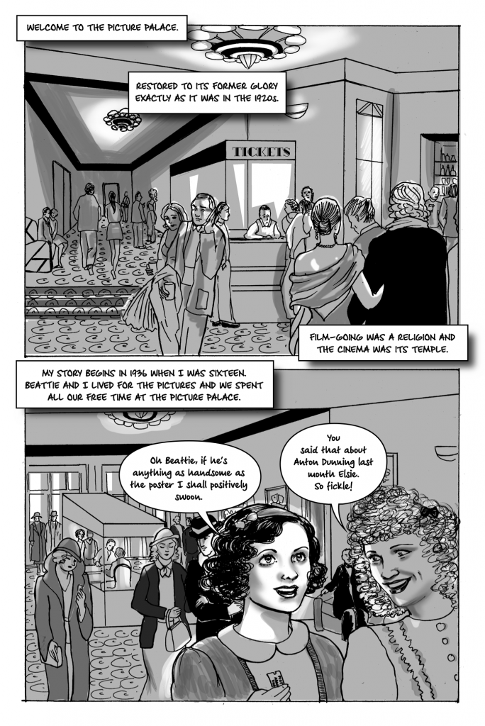 Elsie Harris Picture Palace by Jessica Martin page 1