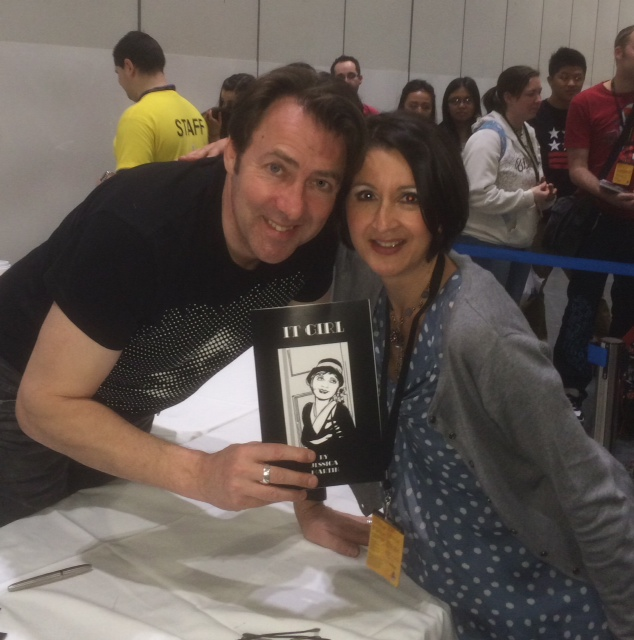 Jessica Martin and Jonathan Ross, London Super Comic Con 15-16.3.14