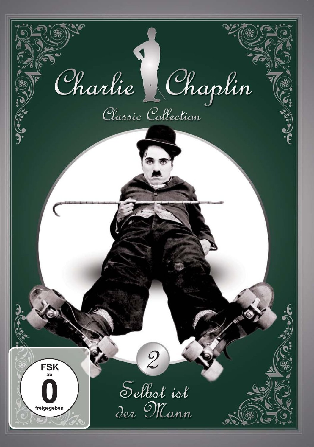 Charlie Chaplin Classic Collection Volume 2 German public domain DVD