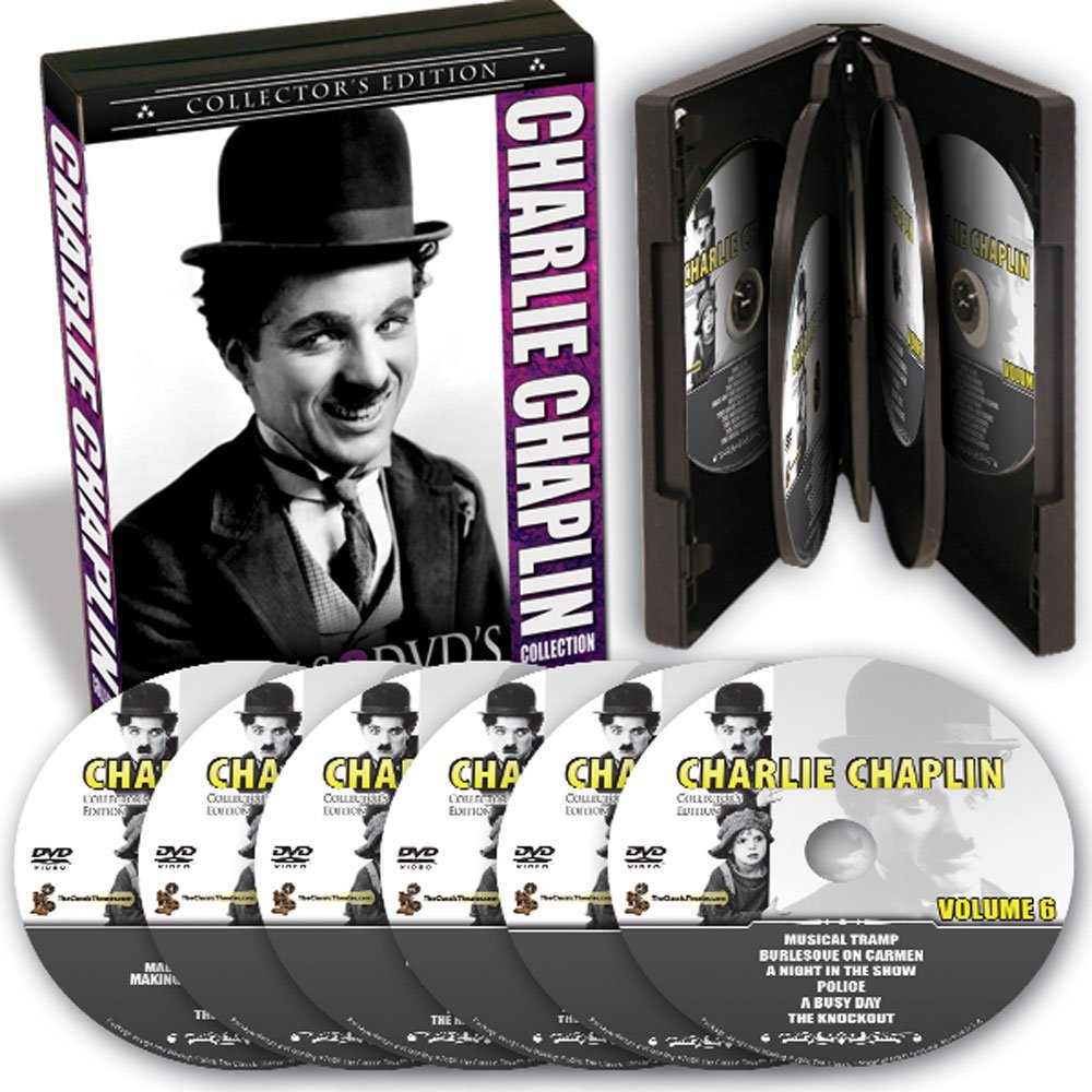 Charlie Chaplin Collector's Edition, US public domain DVD box set