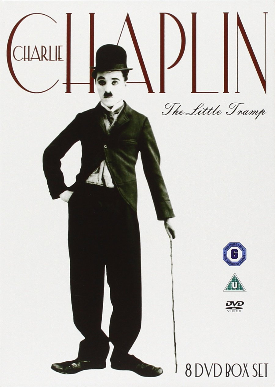 Charlie Chaplin: The Little Tramp, public domain DVD box set