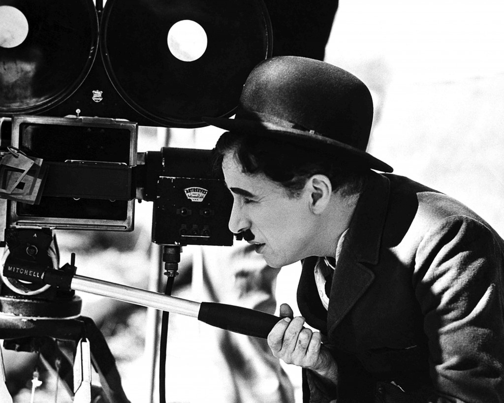 Charlie Chaplin takes a turn behind the camera: directing Modern Times (1936)