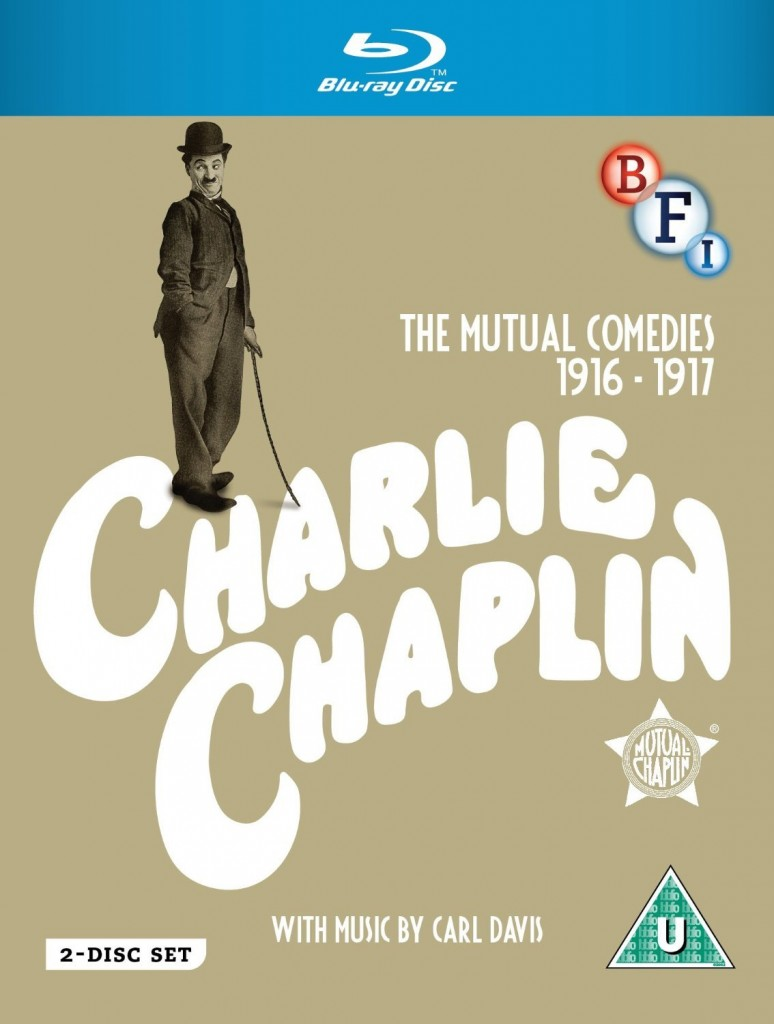 Charlie Chaplin - The Mutual Comedies 1916-1917 UK (BFI) Blu-ray set