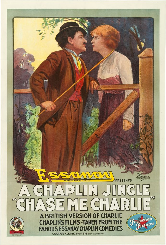 Chase Me Charlie (1917) US poster, 1918