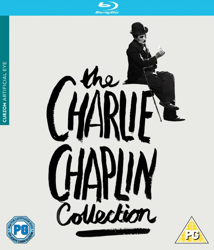 The Charlie Chaplin Collection (Artificial Eye) UK Blu-ray box set