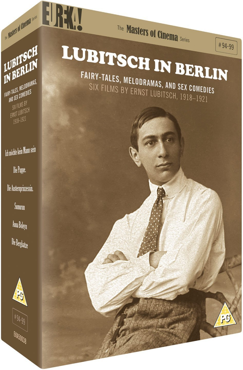 Lubitsch in Berlin 1918-1921 (Masters of Cinema/Eureka) DVD box set