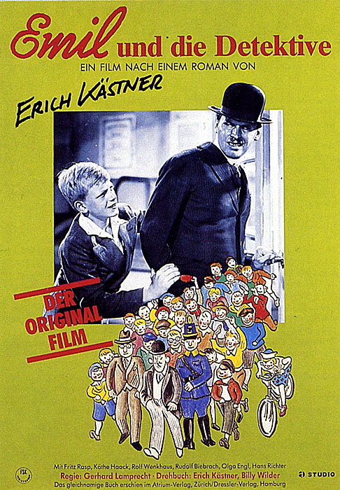 Emil und die Detektive aka Emil and the Detectives (1931) German re-release poster