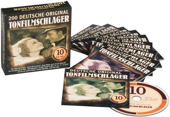 200 Deutsche Original Tonfilmschlager (200 German Original Sound Film Hits) 10-CD box set