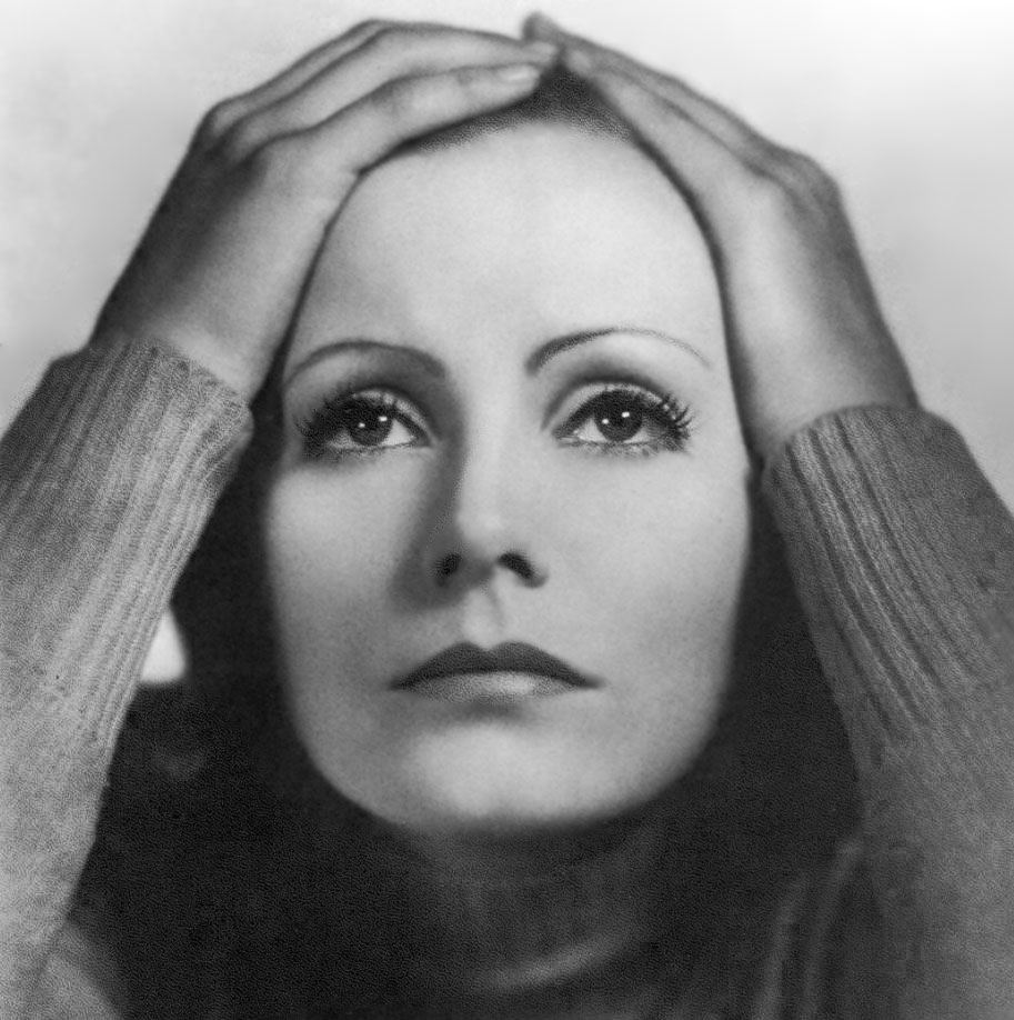 Greta Garbo in Anna Christie (1930), filmed in English and German multiple-language versions, MAFrezzaDesign.com redux