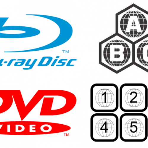 Blu-ray and DVD Region Codes and Video Standards