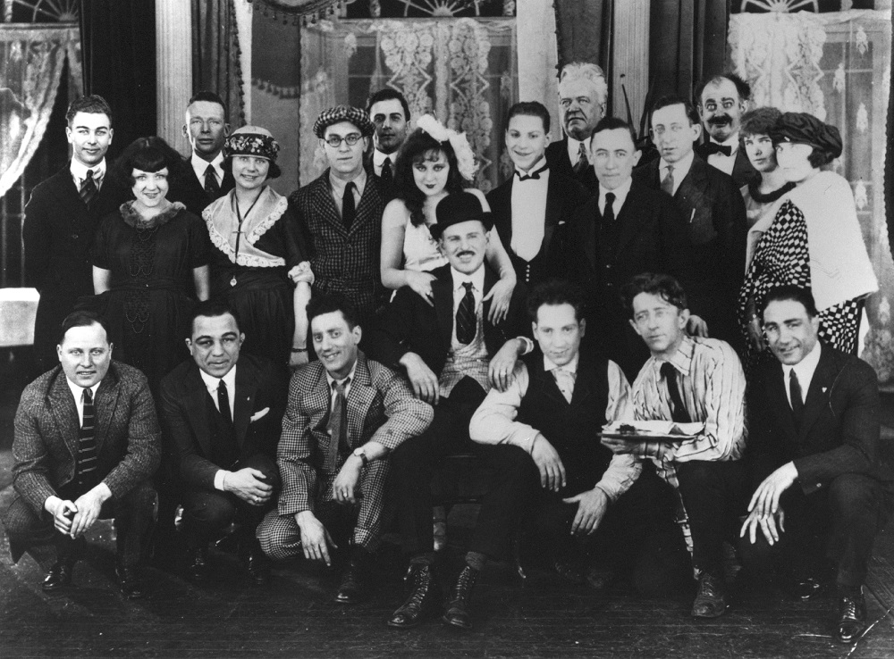 Marx Brothers Humor Risk group photo, 1921. Courtesy Robert B. Weide/Whyaduck Productions.