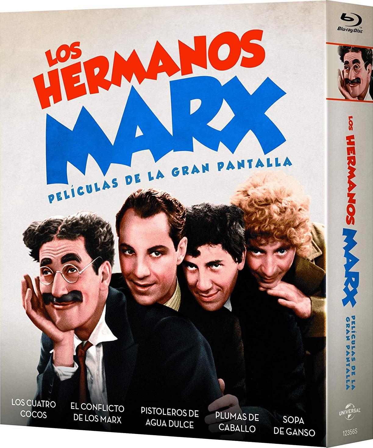 The Marx Brothers aka Los hermanos Marx - Películas de la gran pantalla Spanish Blu-ray set