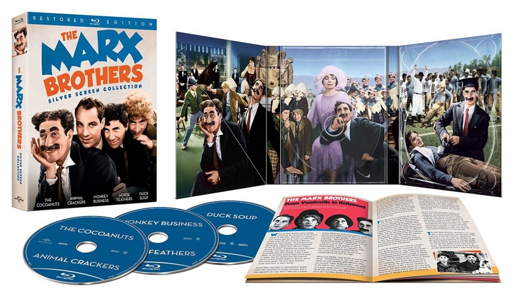 The Marx Brothers Silver Screen Collection US Blu-ray set
