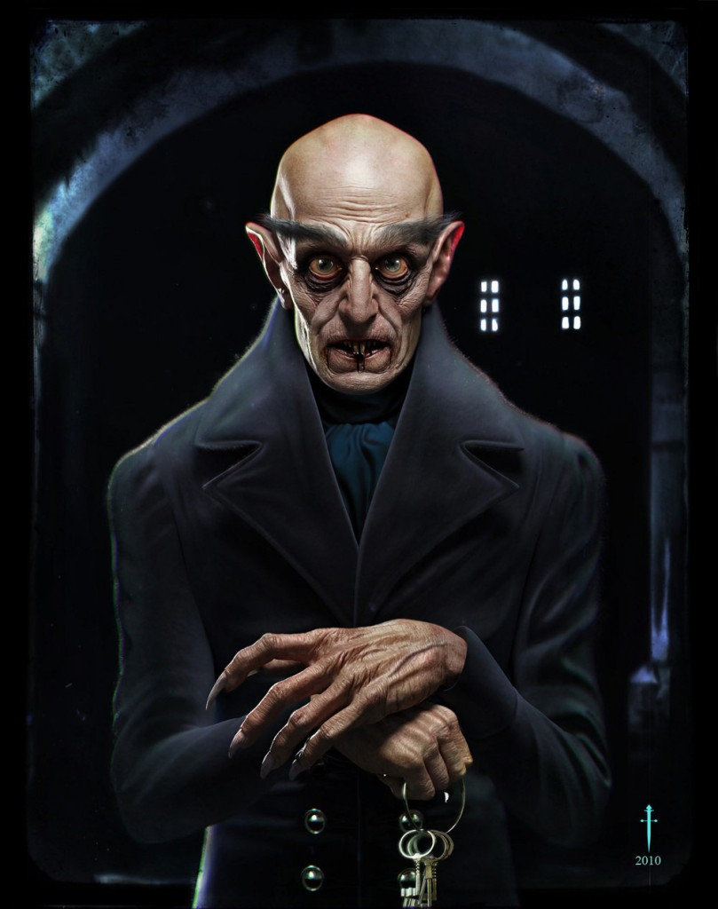 Count Orlok portrait by Daniel Crossland, 2010