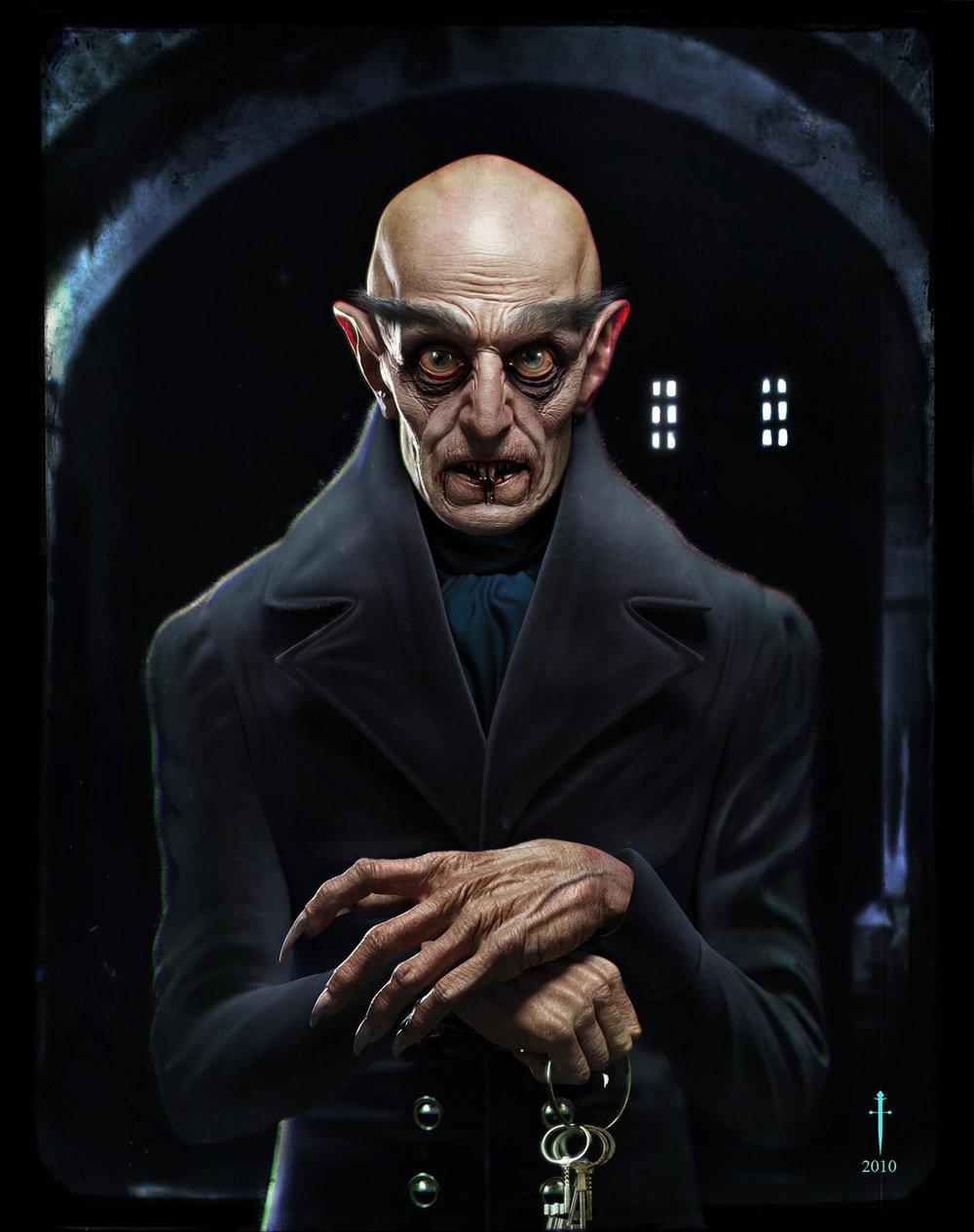Count Orlok portrait by Daniel Crossland, 2010