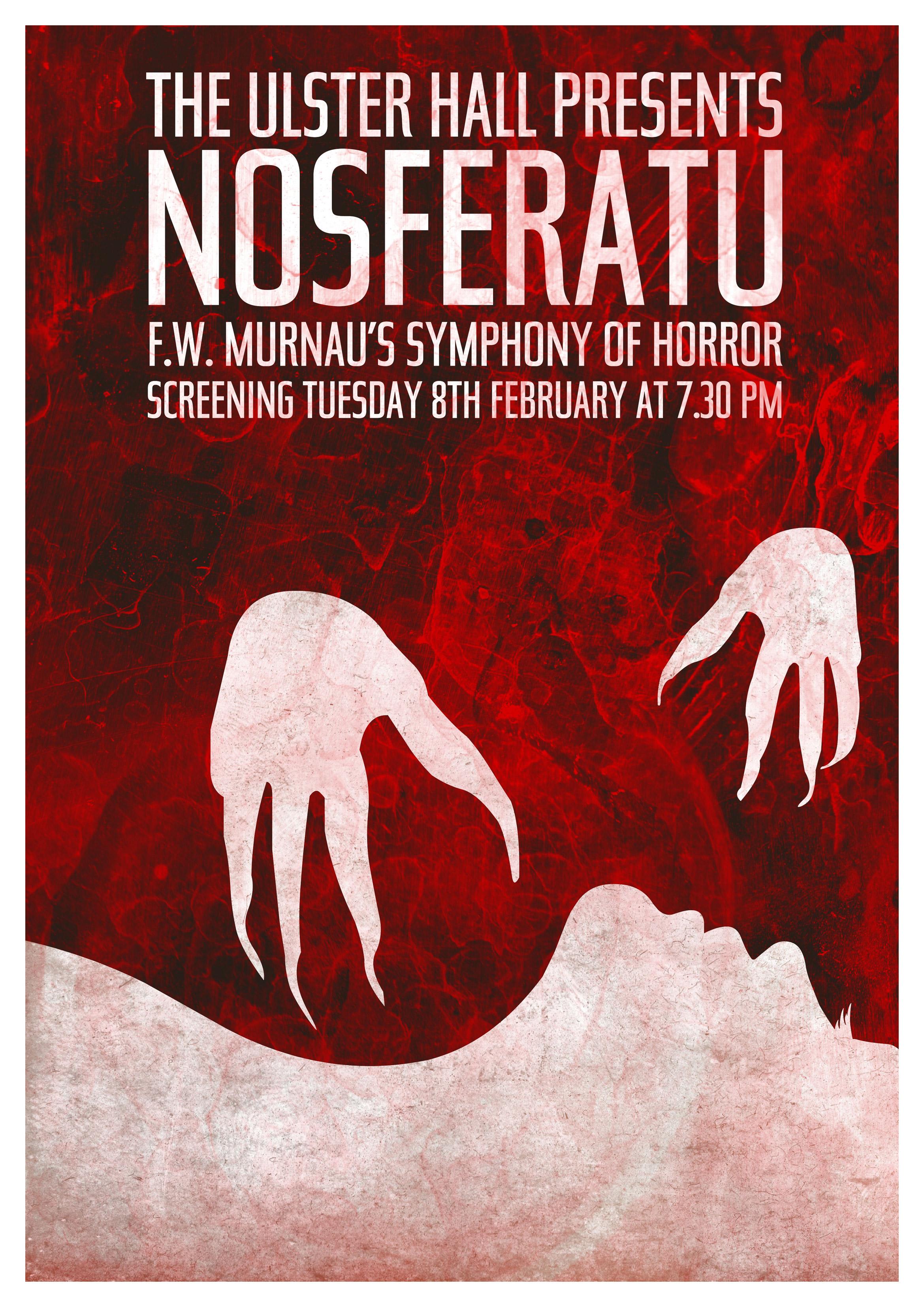 Nosferatu (1922) poster by Conor Bryce, 2011