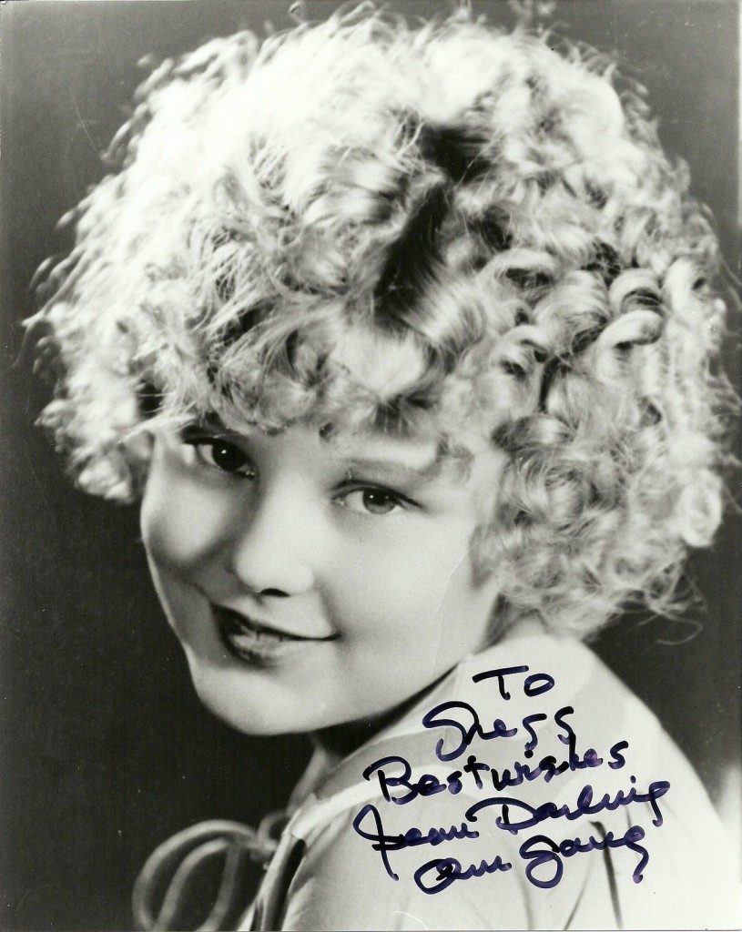 Jean Darling, c.1920s, autographed photo