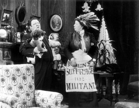 Milling the Militants - A Comical Absurdity (1913) suffragette silent film