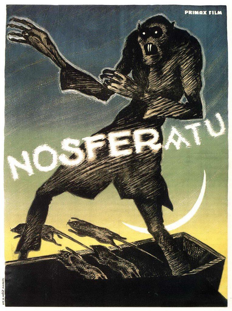 Nosferatu (1922) Austrian Primax Film poster by Albin Grau