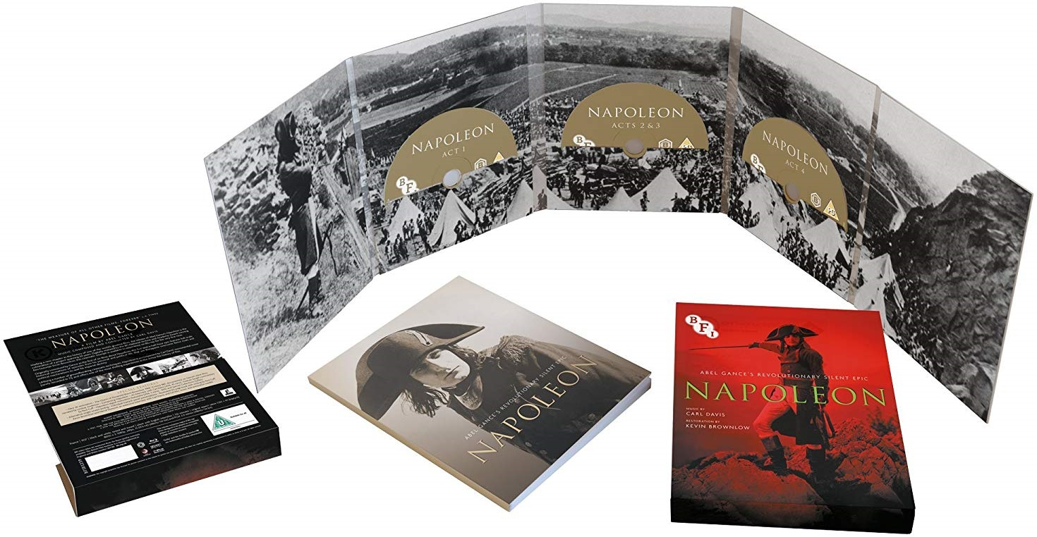 Napoléon (1927) UK BFI Blu-ray set