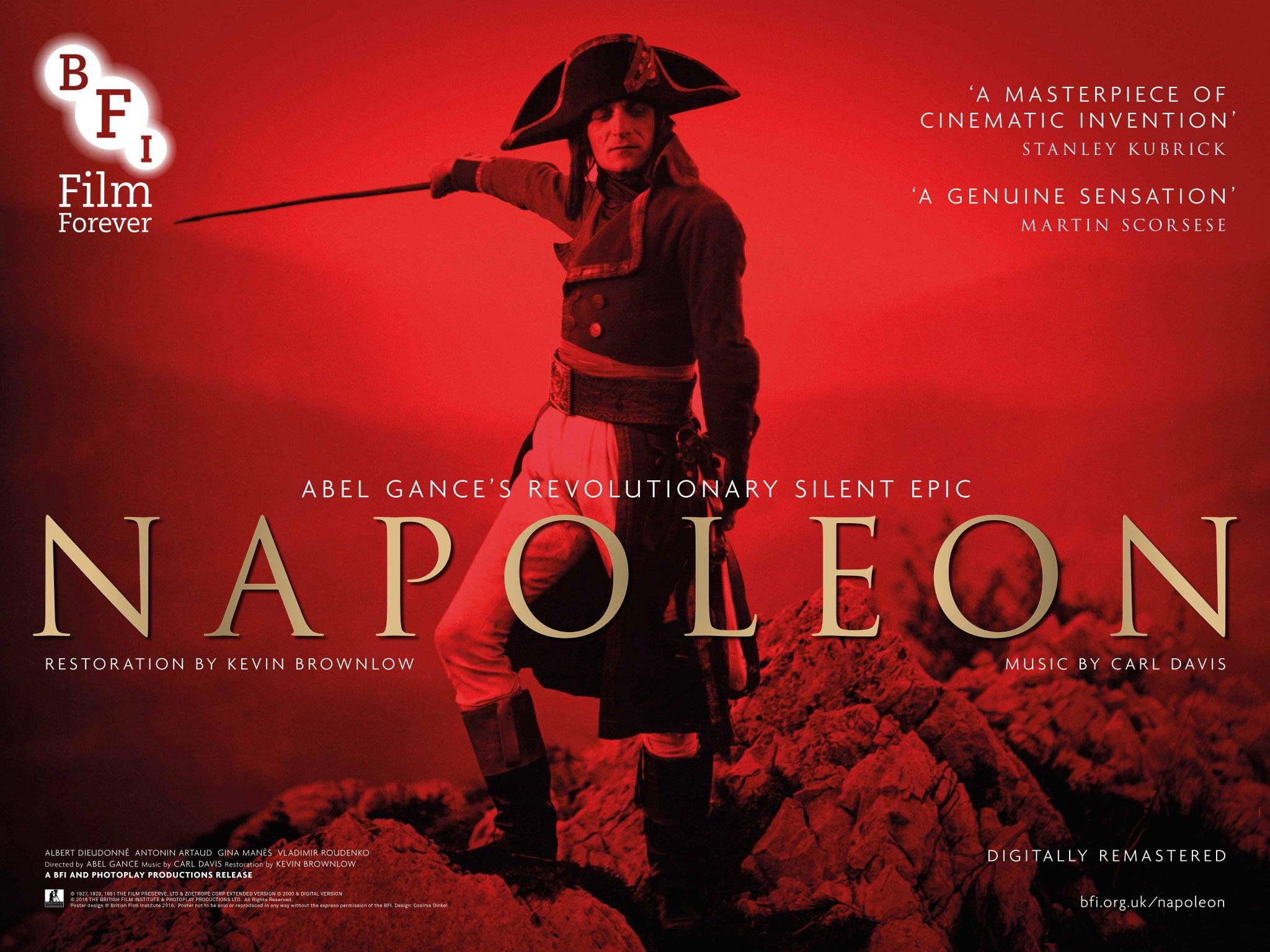 Napoléon (1927) UK BFI poster